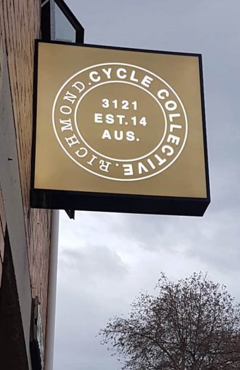 Cycle Collective signage